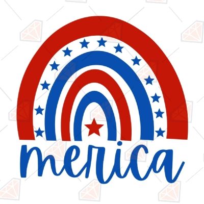 American Flag Clipart On Clear Background